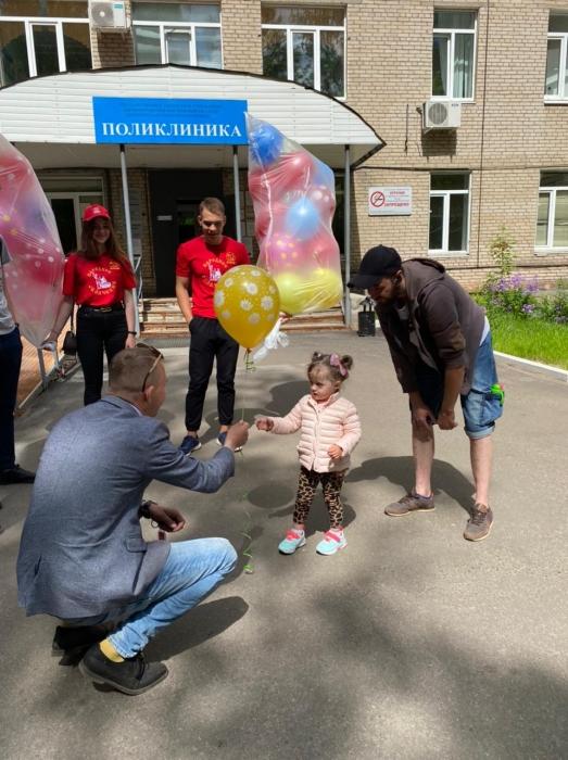 В Королёве в день защиты детей открыли «Детский уголок»