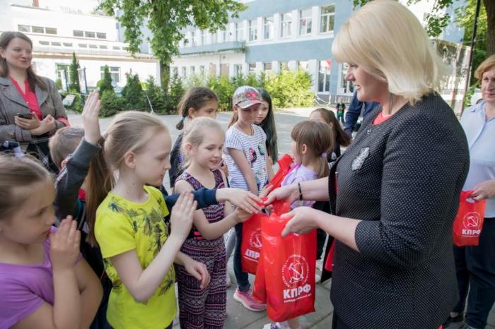 День русского языка в Монино