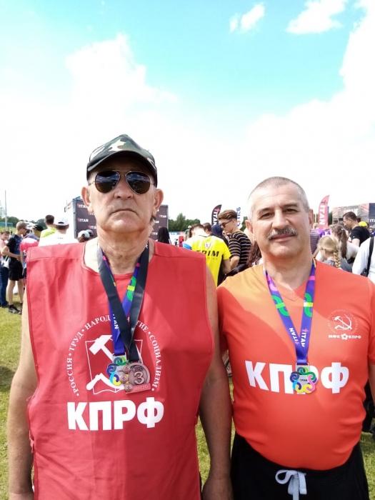 Представитель Спортивного клуба «КПРФ Коломна» занял третье место на чемпионате России по триатлону