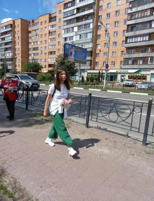 Акция «Красные в городе» идёт в Электростали