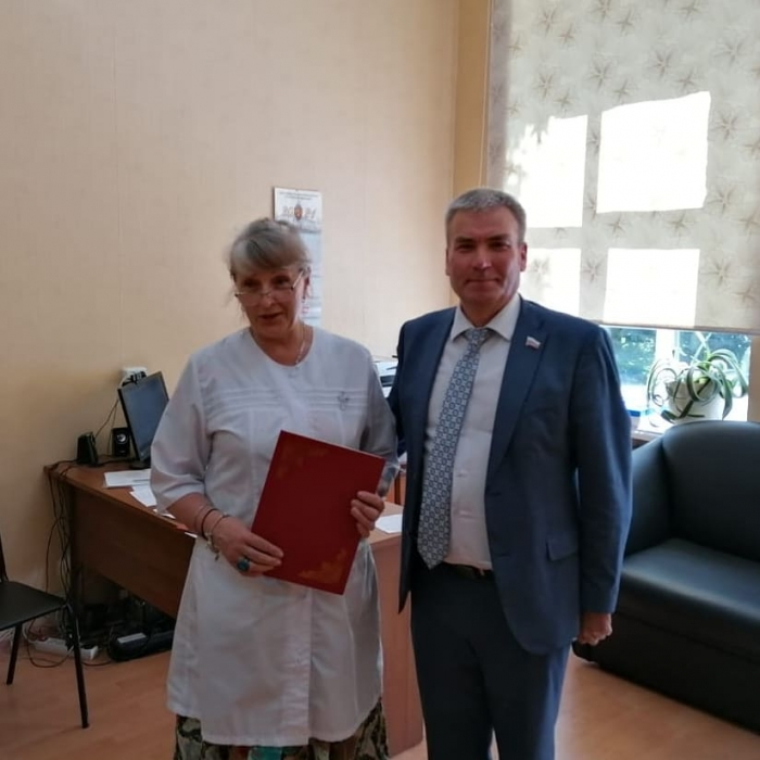 Люберецкие медики получили награды
