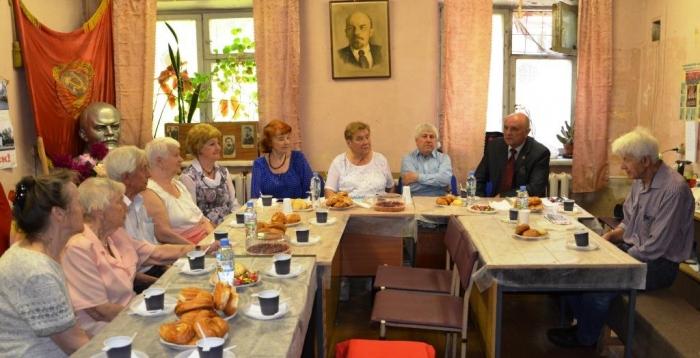 Коммунисты Ногинска встретились с активистами Ногинского отделения «Детей войны»