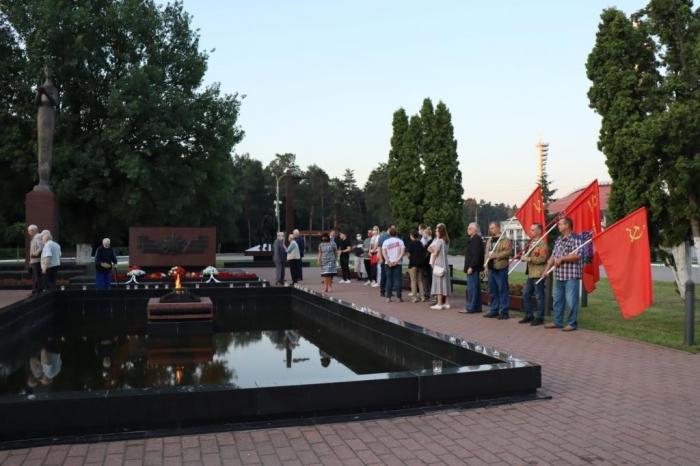 День памяти и скорби в Жуковском
