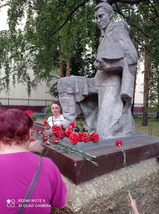 День Памяти и скорби в Люберцах