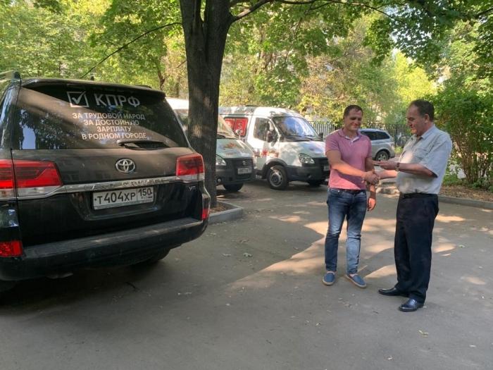 Артём Петухов получил регистрационное удостоверение кандидата в депутаты Госдумы