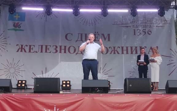 Александр Наумов принял участие в Дне микрорайона Ожерелье