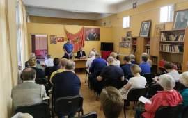 Расширенное заседание избирательного штаба в Люберцах