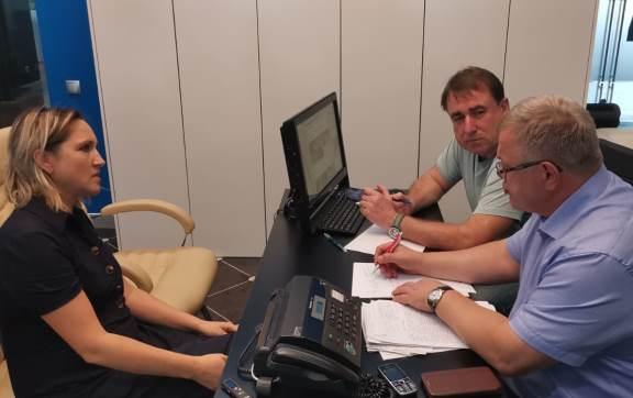 Депутат-коммунист Александр Наумов провел приём граждан в Ступино