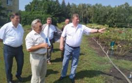 Академик В.И. Кашин посетил Ставропольский ботанический сад