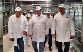 Академик В.И. Кашин оценил деятельность Пятигорского молочного комбината
