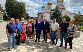 Сергей Стрельцов и Дмитрий Кононенко посетили Серебряные Пруды