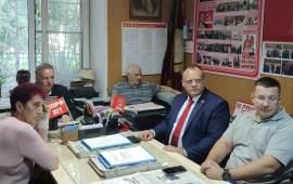 Пленум в ГК КПРФ г.о. Балашиха