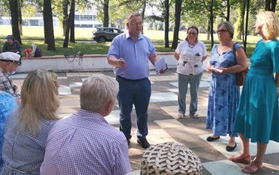 Александр Наумов встретился с жителями наукограда Пущино