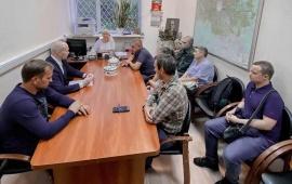 Заседание предвыборного штаба