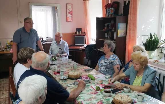 Состоялся рабочий визит депутата-коммуниста Александра Наумова в Озёры