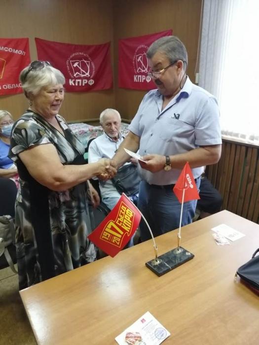 Электрогорские коммунисты за честные выборы! Грудинина восстановить!