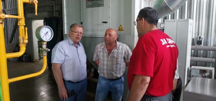 Встреча депутата-коммуниста Александра Наумова с каширскими рабочими