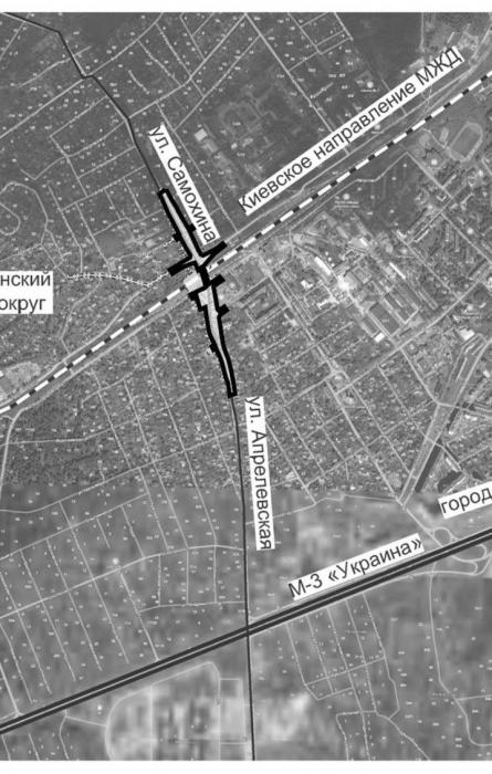 Апрелевка – Краснознаменск – Москва. Транспортный узел