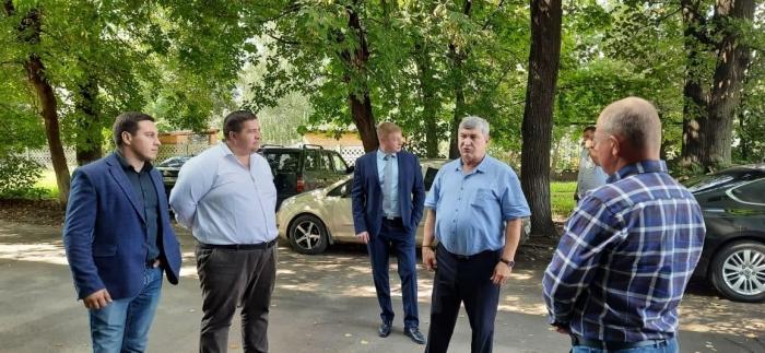 Заместитель председателя Московской областной Думы, второй секретарь МК КПРФ Константин Черемисов с рабочим визитом посетил городской округ Клин