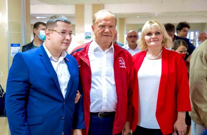 Делегация Балашихинских коммунистов на встрече с Г.А. Зюгановым