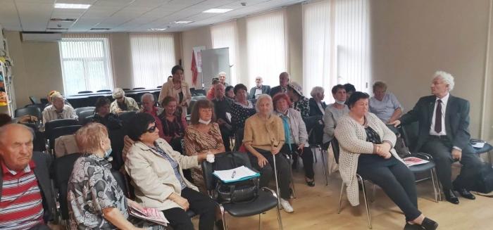 Состоялось расширенное собрание Московского областного отделения общественной организации «Дети войны»