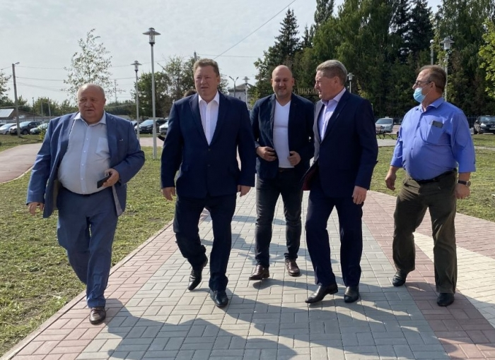 Начался рабочий визит зампреда ЦК КПРФ Владимира Кашина в городской округ Луховицы