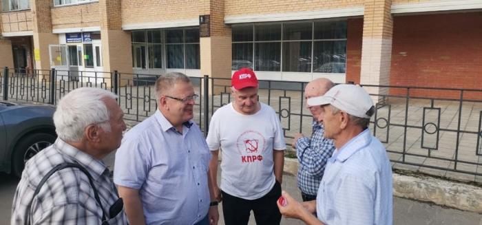 Встреча депутата-коммуниста Александра Наумова с жителями посёлка Данки