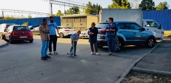Кандидат в депутаты Светлана Петрова провела встречу с жителями г. Королёва