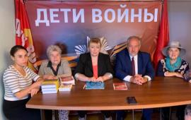 В Королёвском отделении «Дети войны» прошла встреча с жителями города, детьми войны