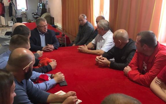 Депутат-коммунист Александр Наумов встретился с жителями деревни Борисово городского округа Серпухов