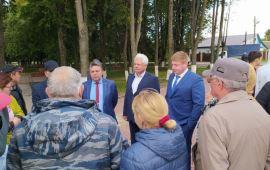 Кандидаты-коммунисты провели встречи с жителями