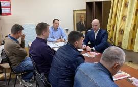 Александр Корнев встретился с активом Химкинского городского отделения партии КПРФ