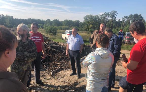Александр Наумов: Проблема стихийных свалок свидетельствует о пробуксовке мусорной реформы в Подмосковье
