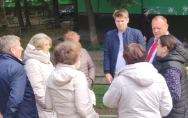 Кандидат в депутаты Государственной Думы О.М. Зверев провел встречу с жителями г.о. Мытищи