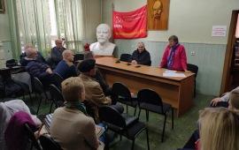 Красногорские коммунисты подвели итоги выборов