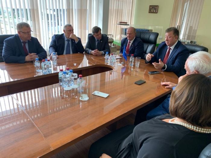 Продолжается визит Председателя ЦК КПРФ Г.А. Зюганова в Подольск