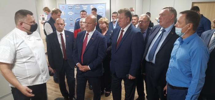 Делегация коммунистов, во главе с лидером КПРФ Г.А. Зюгановым, посетила Коломенский хлебокомбинат