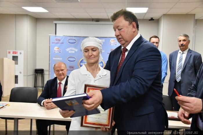 Итоговый репортаж о рабочей поездке Г.А. Зюганова в подмосковный город Подольск