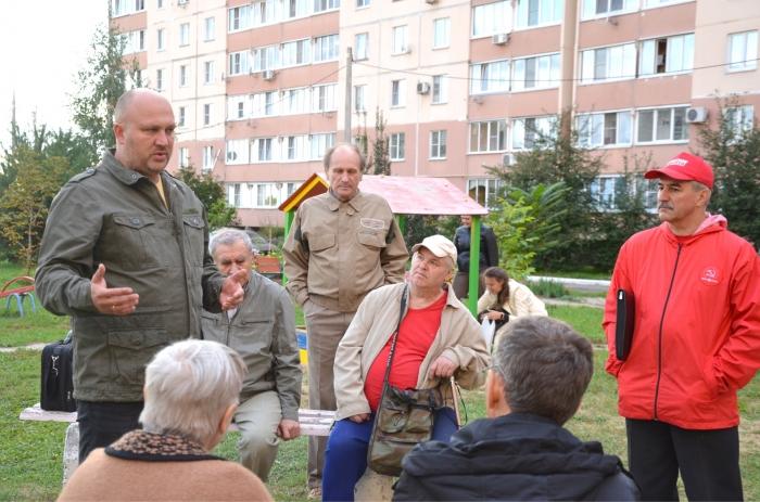 Сергей Стрельцов встретился с жителями микрорайона Колычево городского округа Коломна