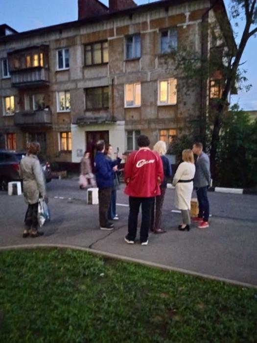 Кандидат в депутаты Московской областной Думы по Королёвскому одномандатному избирательному округу N9 - Светлана Петрова провела встречу с жителями