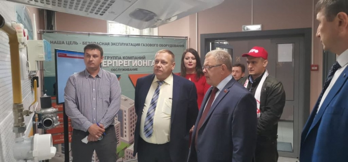 Депутат-коммунист Александр Наумов поздравил работников «Серпрегионгаза» с профессиональным праздником