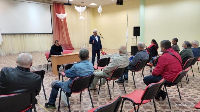 Встреча в Кубинке