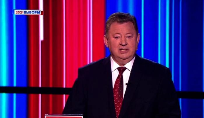 Заместитель Председателя ЦК КПРФ В.И. Кашин принял участие в дебатах на телеканале «ТВЦ»