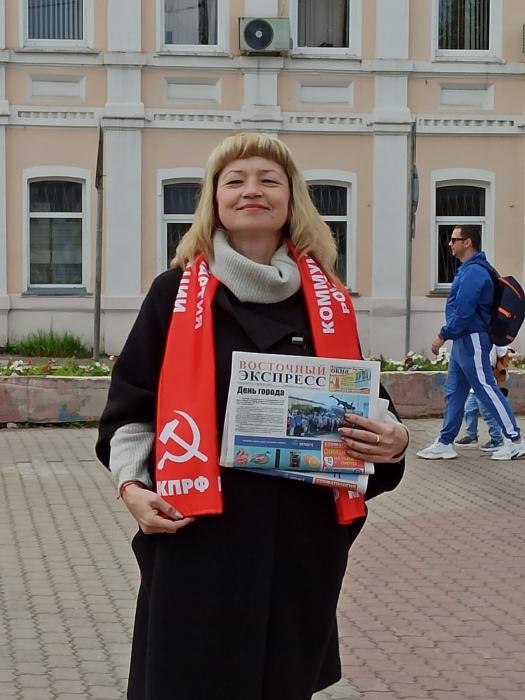 АнтиКап-2021 –« За КПРФ! Вместе победим!» в Ногинске (продолжение)