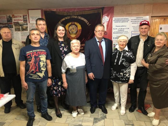Александр Наумов: КПРФ продолжит борьбу за принятие закона «О детях войны» в Московской областной Думе