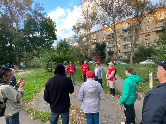Встреча с избирателями городского округа Долгопрудный