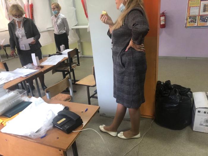 Произвол в Пушкино на УИК №2443