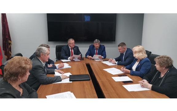 Работа фракции КПРФ в Московской областной Думе