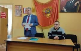 Люберецкие коммунисты поблагодарили наблюдателей