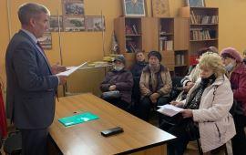 Люберецкие отделения общественных организаций «Дети войны» и «Надежда России» избрали руководителей